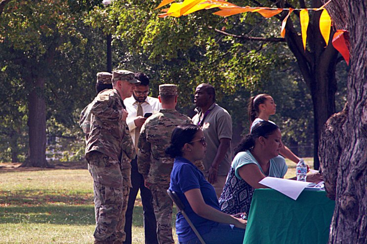 Military visitors