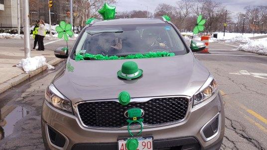 Closeup of the car
