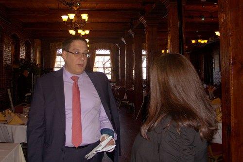 Tim Coco with Lisa Rajczyk