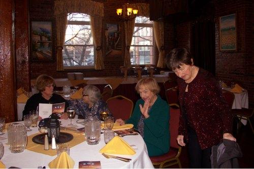 Penny Davis, Jean Sanders, Kay Herlihy, Jane Hucks