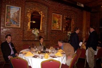 (r-l) Mike Schroth, Judy, & Mike's Friend, (in background) Tim Coco & Steve Gordon