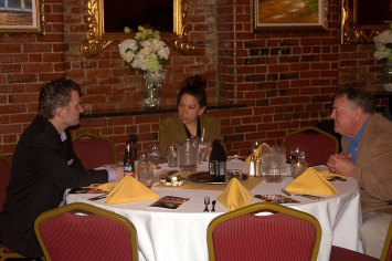 (r-l) Mike Schroth, Judy, & Mike's Friend