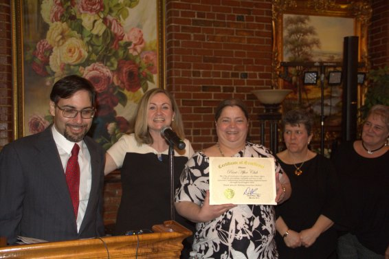Daniel Rajczyk, Eileen Bernal, & Members of the Point After Club
