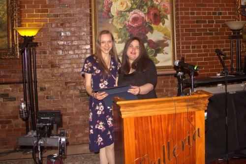 Jenn Tullgren and Lisa Rajczyk