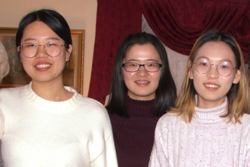 Taixing, Helen, Jingjing