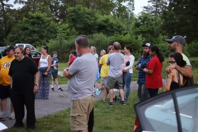 Gathering visitors