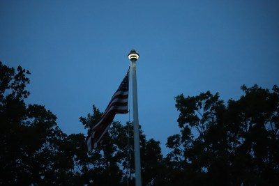 Flag at Soldiers Hill