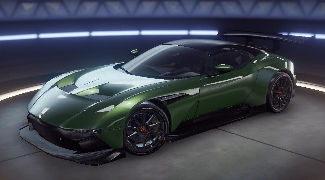 Aston Martin Vulcan Asphalt 9 Legends Database Car List