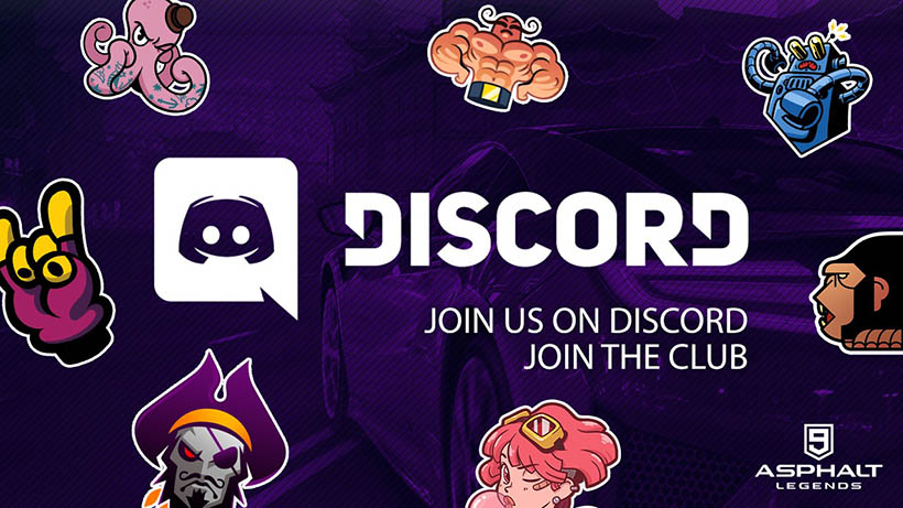 Asphalt 9 Legends Discord Server Oficial