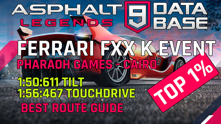Ferrari fxx k event pharaoh games feat