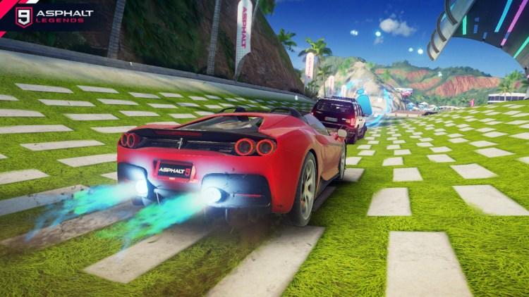 Asphalt 9 Ferrari J 50 Gallery4