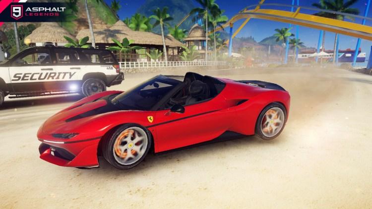 Asphalt 9 Ferrari J 50 Gallery6