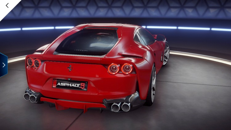 Асфальт 9 Ferrari 812 Superfast  4