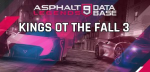 asphalt 9 legends kings of the fall 3 event