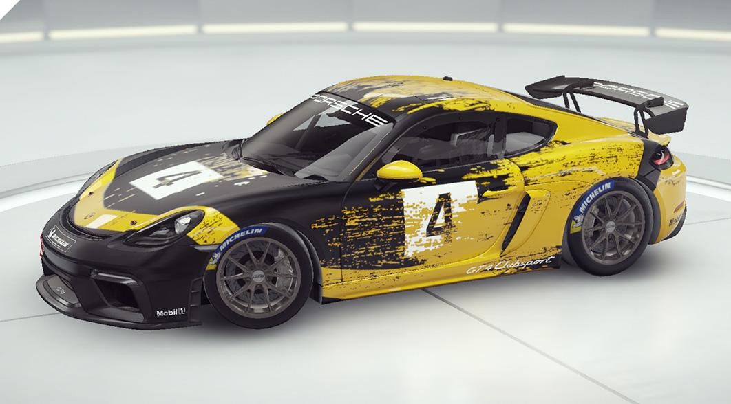 Asphalte 9 Porsche 718 Cayman GT4 Clubsport