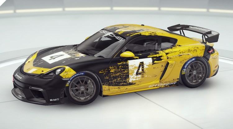 Aspal 9 Porsche 718 Cayman GT4 Clubsport