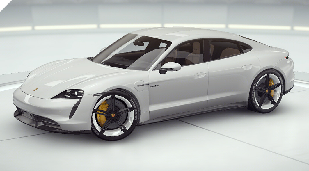 asfalto 9 Porsche Taycan Turbo S