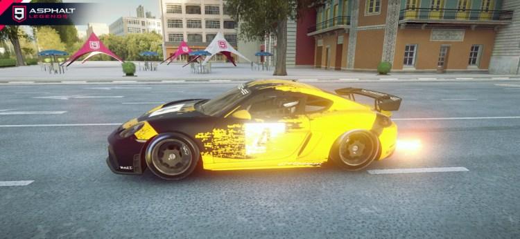 Aspal 9 Porsche 718 Cayman GT4 Clubsport Galeri 3