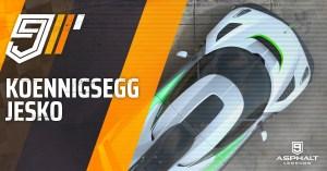 아스팔트 9 Koenigsegg Jesko 그랑프리