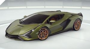 Асфальт 9 Lamborghini Sian FKP 37