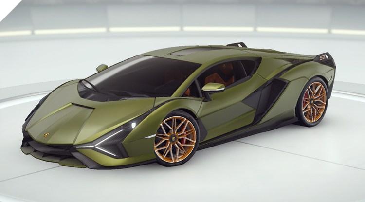 アスファルト9 Lamborghini Sian FKP 37