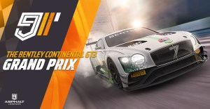 Асфальт 9 Bentley Continental GT3 Гран При