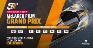아스팔트 9 McLaren F1 LM 그랑프리
