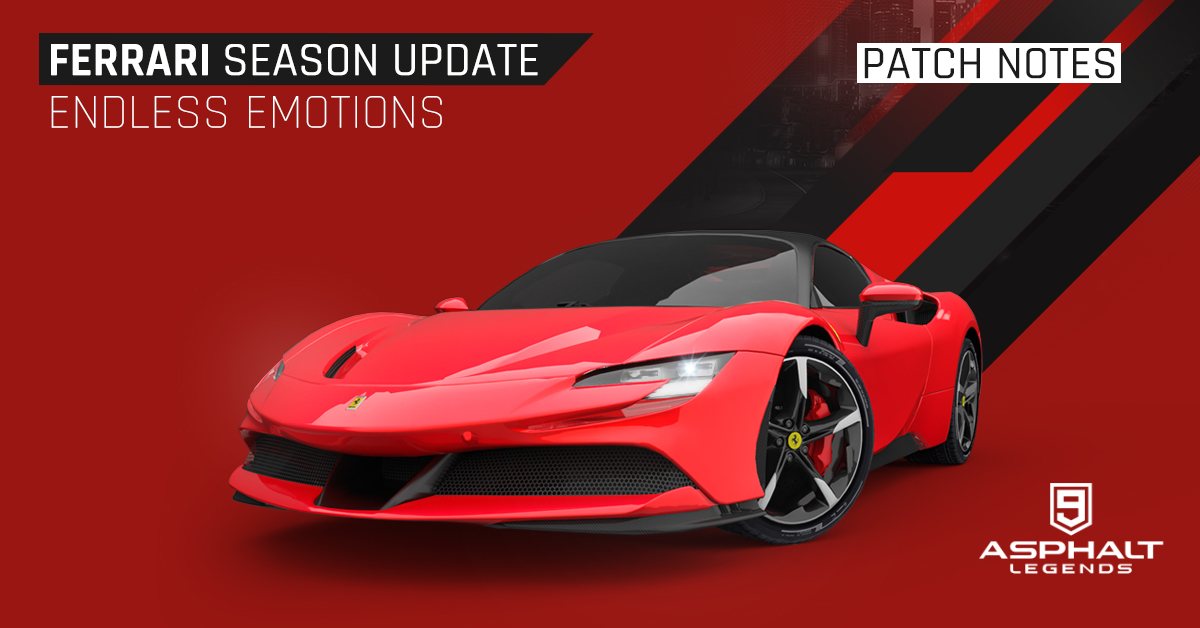 Asphalt 9 Legends Update 15 Ferrari Saison