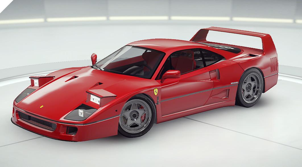 Asphalt 9 Ferrari F40