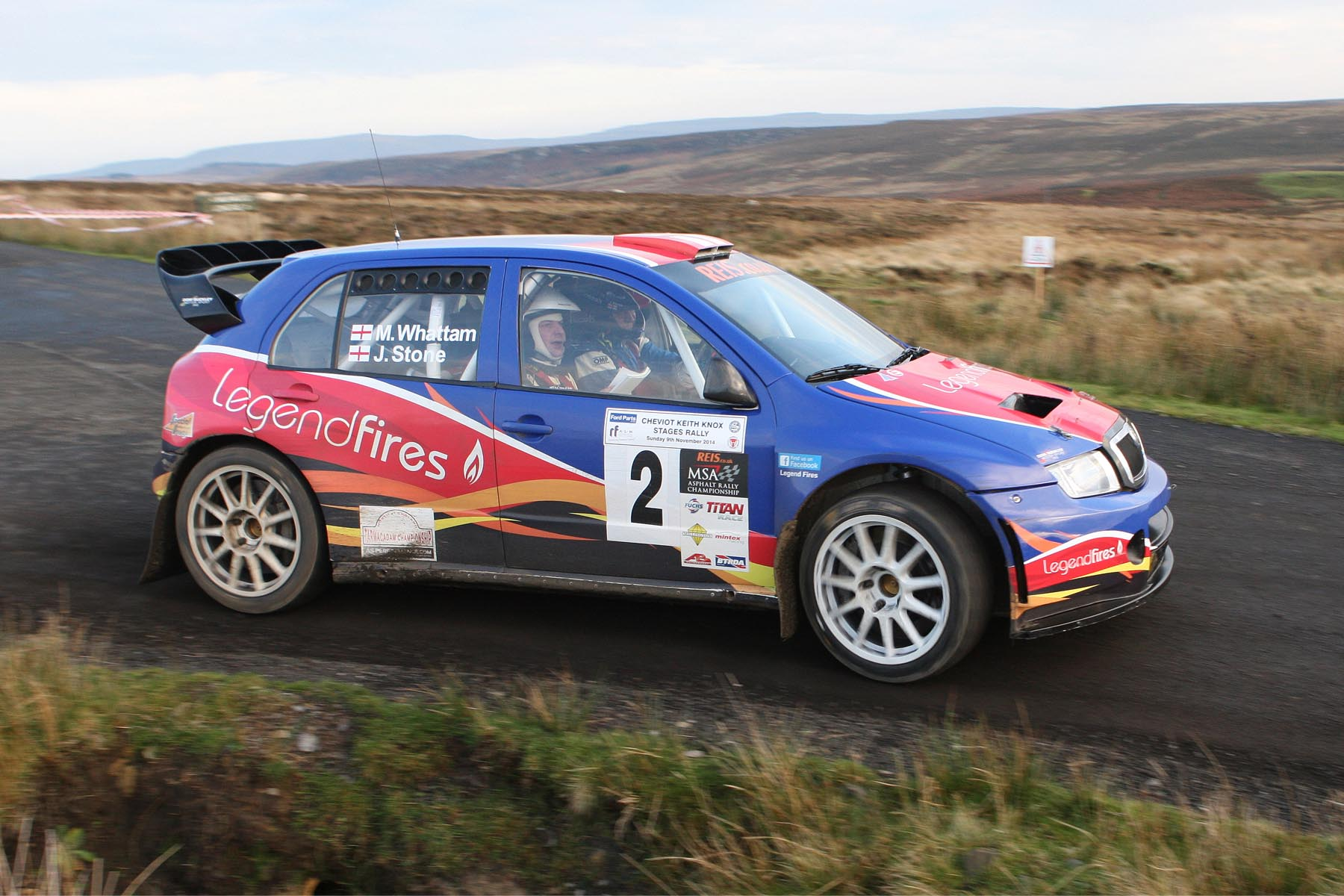 2014 Ford Parts-ALM Engineering Cheviot Keith Knox Rally
