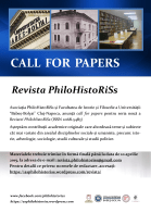 CALL FOR PAPERS Final Philohistoriss
