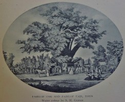 And completing the gallery for lot 259 this quirky oval picture
