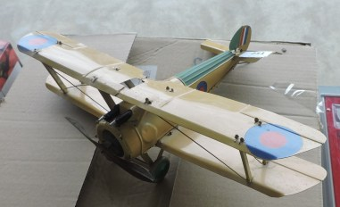 The model aerolplane was another success