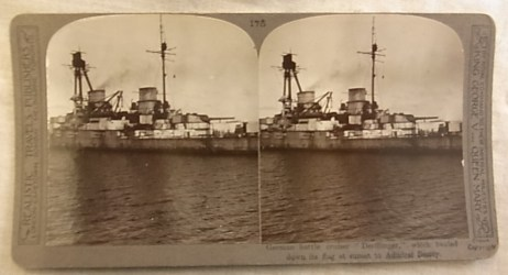 When viewed through the stereograph you get a single picture in 3D