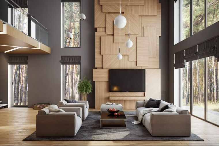 modern living room decoration in 35