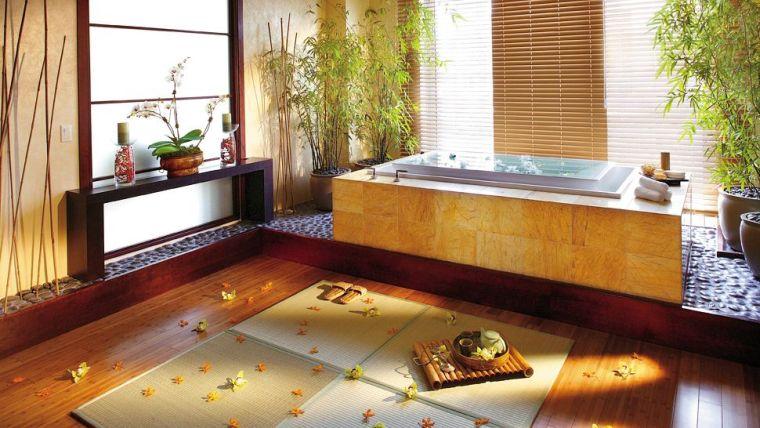 zen inspired japanese inspired bathroom