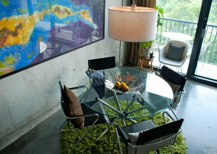 contemporary glass table 24 design