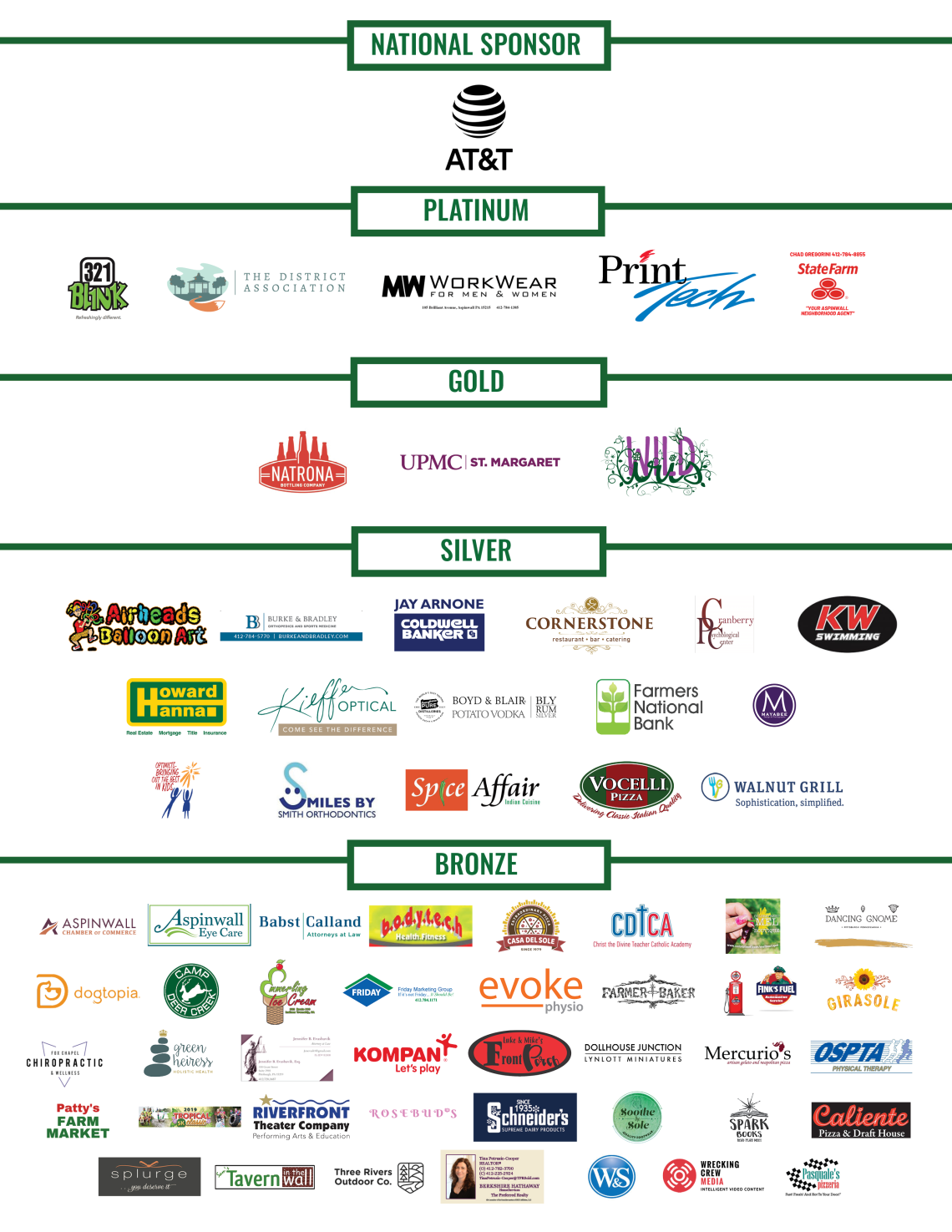 ANW National Night Out Sponsors 2019 -2