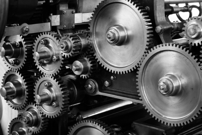 A system of gears | Aspioneer