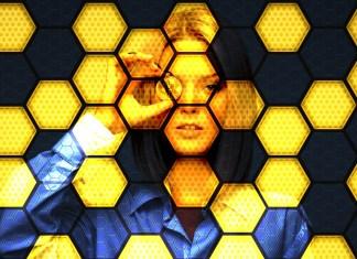 Blockchain honeycomb pattern