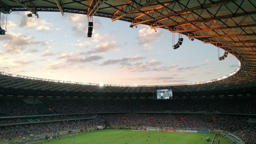 A football stadium at almost dusk | Aspioneer