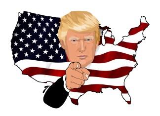 Uncle Sam, Donald Trump   Aspioneer