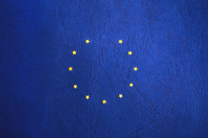 The symbol of EU with a single star missing | Aspioneer