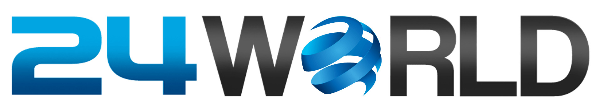 PNG image of 24 World logo
