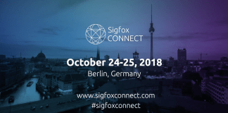 The logo of Sigfox Connect conference