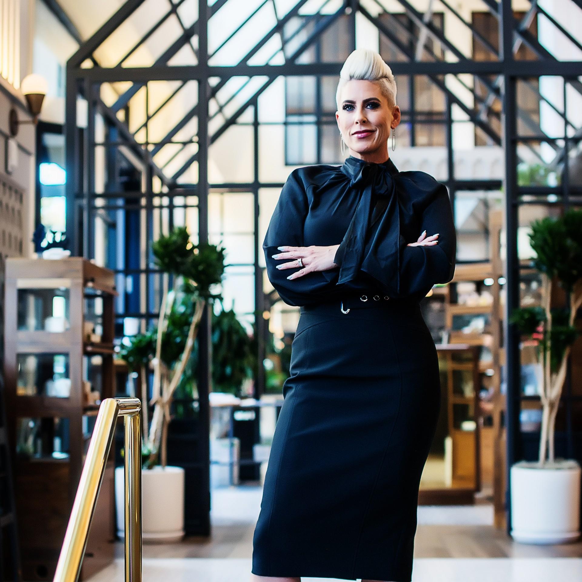 Gina Rivera. Founder & President, Phenix Salon Suites