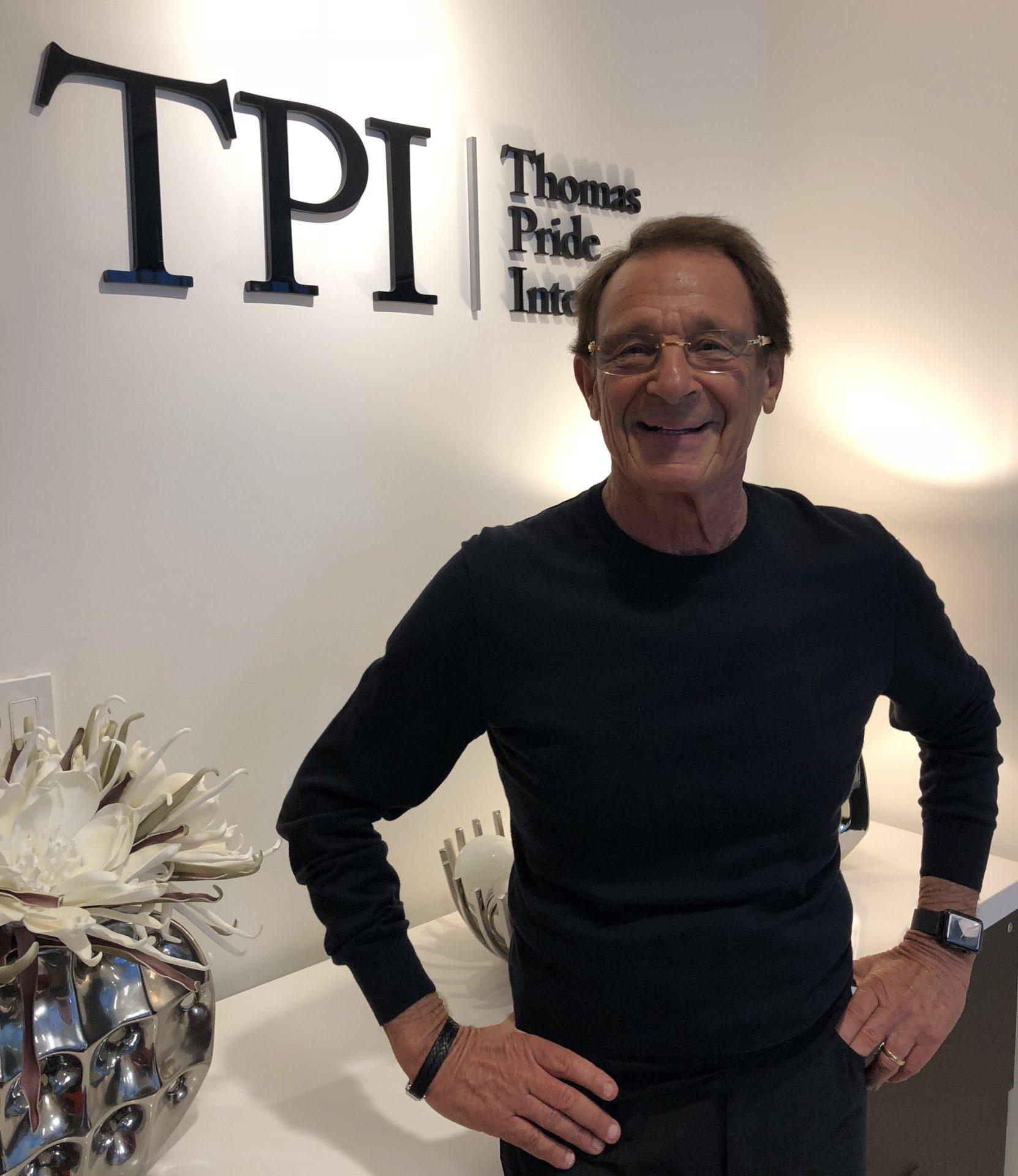 Peter Thomas, Founder, & Chairman, Thomas Pride International