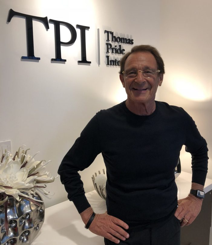 Peter Thomas, Founder, & Chairman, Thomas Pride International