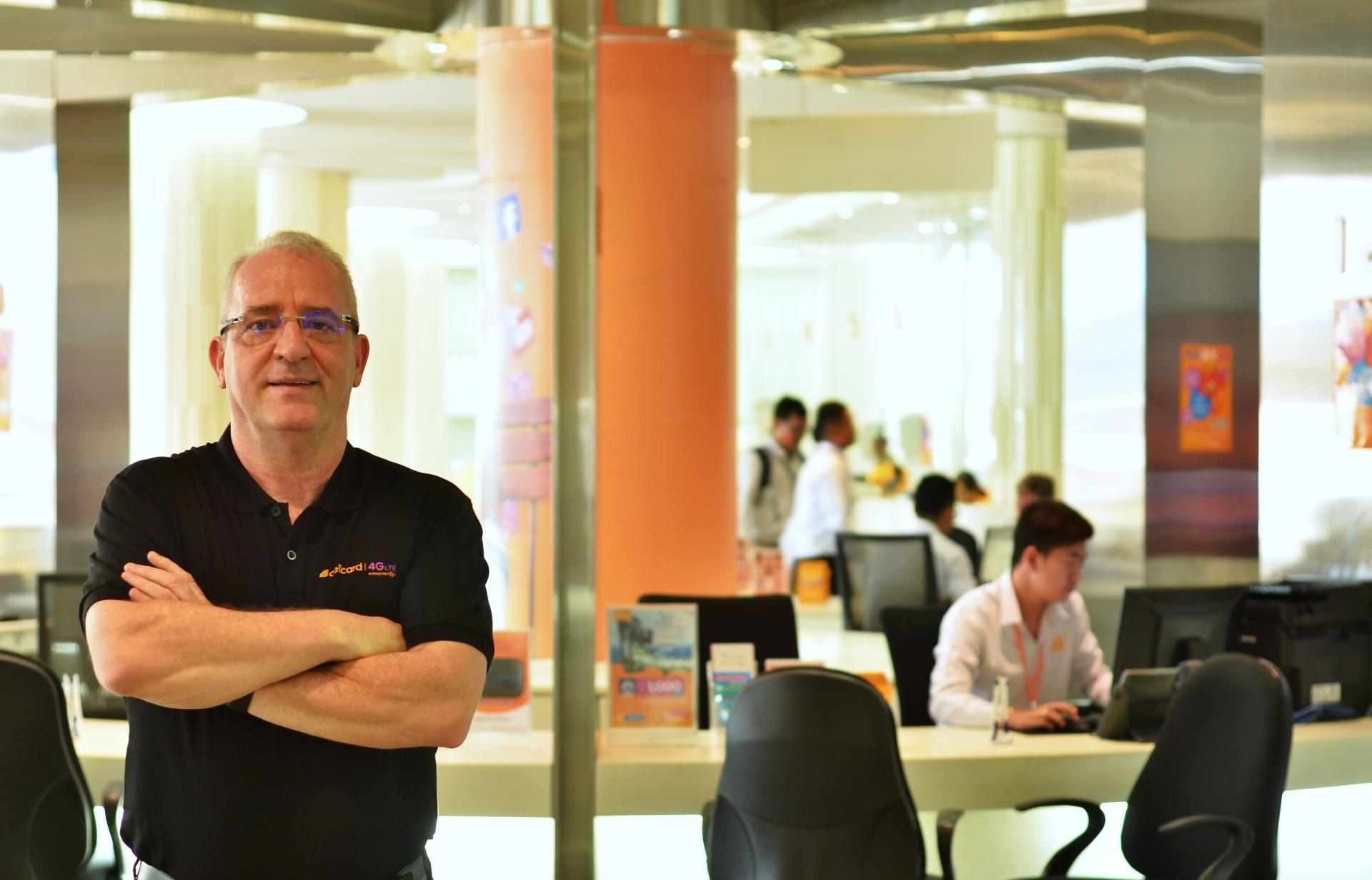 Ian Watson, CEO & CMO, Cellcard.
