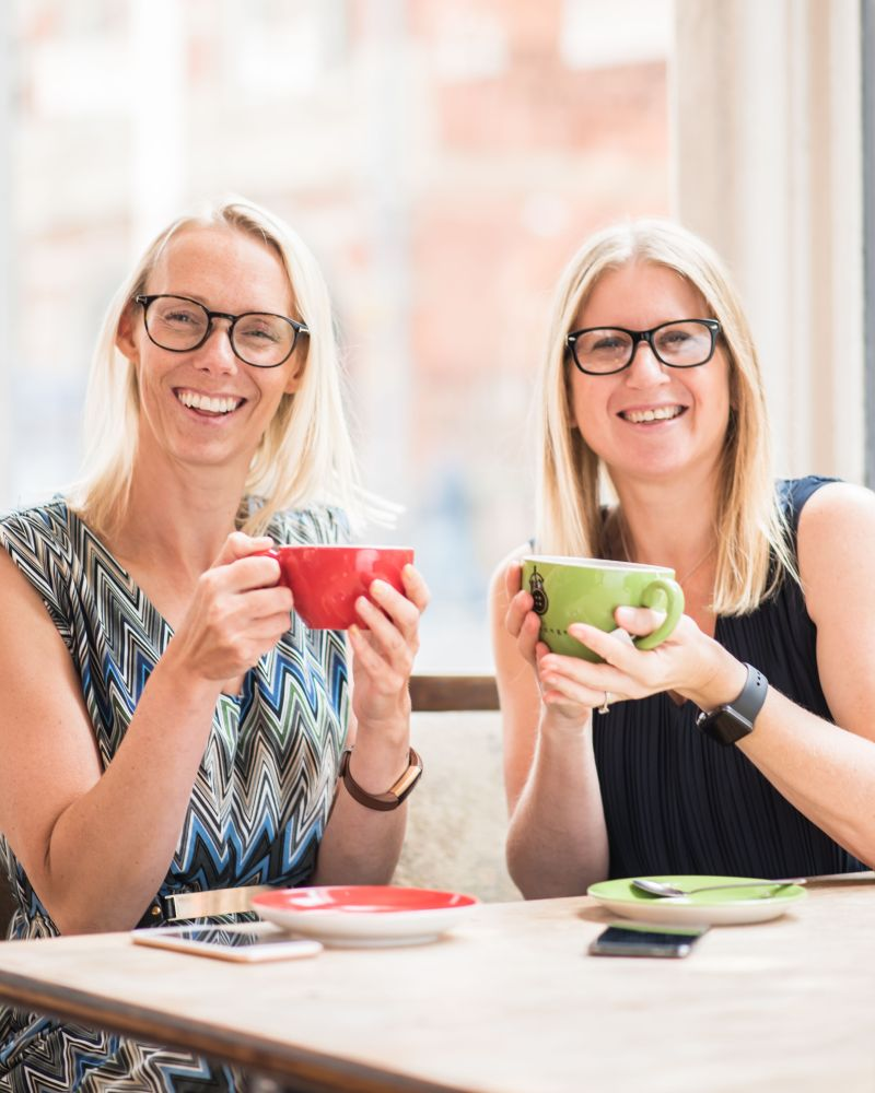 Anita Baldwin & Anna Geary: Tech Savvies helping others to prevail through Get Savvy Club
